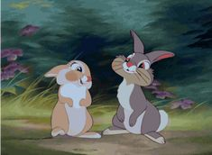 Pin for Later: 38 of the Best Disney Kisses of All Time Thumper and Girl Bunny, Bambi Disney Animation, Disney Pixar, Disney E Dreamworks, Disney Amor, Cute Disney, Disney Cartoons, Disney Films, Disney Magic, Disney Characters