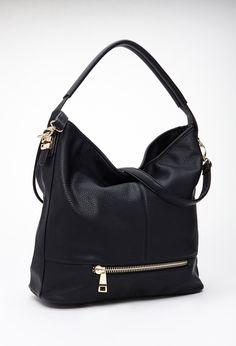 Faux Leather Shoulder Bag | Forever 21 Canada