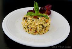 Moroccan Cauliflower Salad |  Feed your Skull