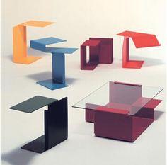 Konstantin Grcic, Diana tables.