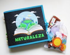 Juguetes y material sensorial para estimulación temprana Silent Book, Teaching Aids, Activities For Kids, Scrapbook, Learning, Books, Projects, Baby, Crafts