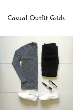 Today we're going to share coolest casual outfit grids with you today. Amazing casual outfit grids to help you look sharp. Smart Casual Outfit, Casual Outfits, Men Casual, Casual Wear, Mode Outfits, Jean Outfits, Fashion Outfits, Mens Fashion Blog, Best Mens Fashion