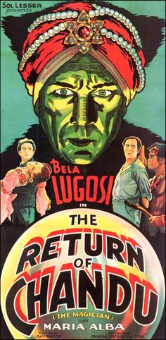 The Return of Chandu (1934)