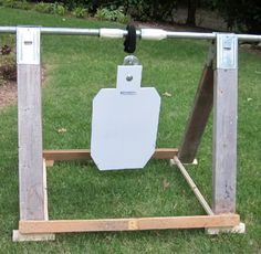 diy target stands   Thread: DIY ultra portable/cheap steel target stand