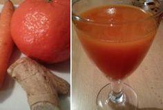 Jak připravit mrkvový koktejl s pomerančem a zázvorem   recept   JakTak.cz
