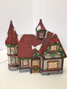 Dickens Keepsake O'Well Porcelain Lighted Village House Yarmouth Inn Heartland