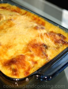 Moussaka is a delicious Greek dish made with eggplant, ground beef, potato, White Sauce or Bechemal Sauce, cheese and spices.