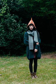 Mori girl - mushroom hat