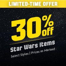 30% Off Star Wars