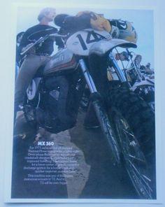 1973 Yamaha MX360 Sales Ad Vintage MX 360 | eBay