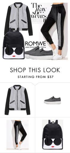 """2 romwe"" by kiveric-damira ❤ liked on Polyvore"