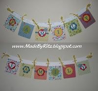 Family Banner in Bright Summer Colors!