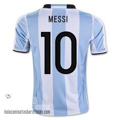 132f64bad83cb Camiseta Messi Copa América Primera Argentina 2016 €23.5 Adidas Futbol