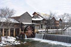 The Old Mill in Pigeon Forge - You will not want to miss eating here!