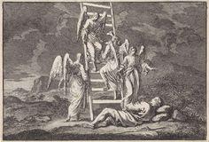 Jan Luyken   Jakobs ladder, Jan Luyken, Pieter Mortier, 1703  