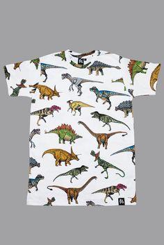Dinosaur tee remera con dinosaurios