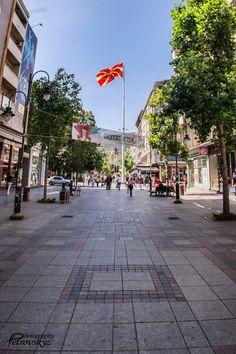 Skopje ulica Makedonija