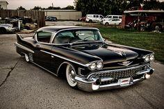 #1958 #Cadillac #Coupe #De #Ville - riding nice
