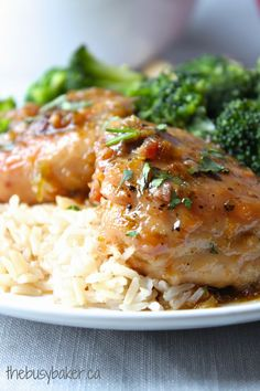 The Busy Baker: Honey Garlic and Lime Chicken