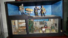 Diorama Normandie Bunker von Jaguar 1 / 35