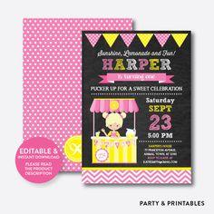 Pink Lemonade Sta... http://partyandprintables.com/products/pink-lemonade-stand-chalkboard-kids-birthday-invitation-editable-instant-download-ckb-59b?utm_campaign=social_autopilot&utm_source=pin&utm_medium=pin #partyprintables #birthdayinvitation #partysupplies #partydecor #kidsbirthday #babyshower