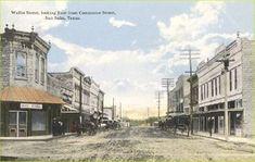 Wallis Street,  San Saba, Texas