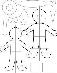 Resultado de imagen para moldes de muñecos de trapo gratis
