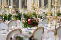 Lush greens and vibrant florals were used as table centerpieces contrasting beautifully with the luxurious white and gold linens, candleabras and crockery.  Photography by @unikeye_wedding_photography Venue @luttrellstowncastleresort Planning and Design @oliviabuckleyinternational  #floraldesign #oliviabuckleyinternational #floralteam #eventplannersinireland #irisheventplanners #corporateevent #privateparties #luxuryevents #destinationeventplanner #eventdecor Table Centerpieces, Table Decorations, Lush Green, Event Decor, Corporate Events, Tablescapes, Linens, Florals, Floral Design