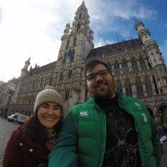 Na Grand Place em Bruxelas #Brussels #Belgium #Travel