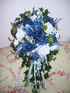 wedding bouquet blue - Google Search