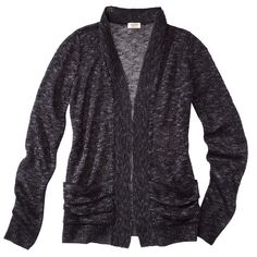 Mossimo Supply Co. Juniors Long Sleeve Open Front Cardigan - Assorted Colors