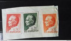 RARE PTT YUGOSLAVIA 0.50+0.20+0.05 TRAVEL BUT NO WATERMARK SEAL  1968 USED STAMP TIMBRE - 1945-1992 Socialist Federal Republic Of Yugoslavia