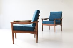 Danish Teak Lounge Chairs by Glostrup Mobelfabrik  http://theswankyabode.com/collections/seating/products/danish-teak-lounge-chair-by-glostrup-mobelfabrik-01141625