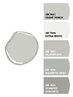 Paint Colors From Chip It By Sherwin Williams Charcoal Gray