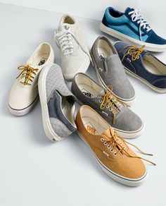 99b886736d63 Vans® for J.Crew washed canvas authentic sneakers