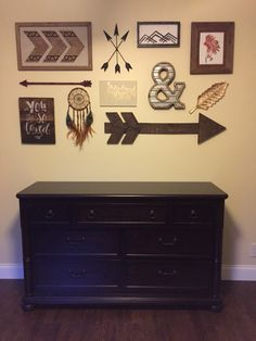 Tips for Creating a Gallery Wall Aztec Nursery, Nursery Twins, Nursery Themes, Nursery Decor, Bedroom Decor, Aztec Room, Bedroom Ideas, Wall Decor, Rustic Nursery