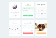 Ui Kit PSD by Abhimanyu Rana Published by Maan Ali