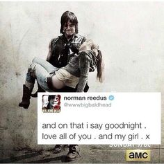 "Norman live-tweeting during ""Coda"", season 5 finale TWD. The Walking Dead. Bethyl. Deth. Daryl Dixon. Beth Greene."