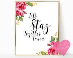 INSTANT download romantic quote bedroom art bedroom print