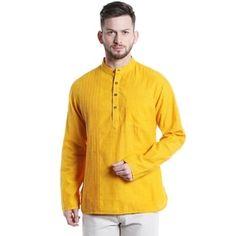 defd5d42 Overstock.com: Online Shopping - Bedding, Furniture, Electronics, Jewelry,  Clothing & more. Indian KurtaYellow ShortsMandarin CollarChinosMale ...