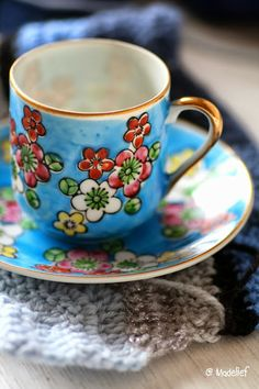 Madelief blog - vintage cup