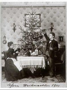 Weihnachten 1900 - Christmas 1900