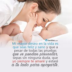 Amo a mi bebé www.familias.com #amoamifamilia
