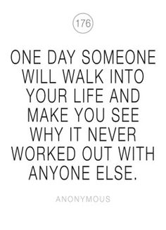 one day someone poster - från Konstgaraget hos ConfidentLiving. Happiness Challenge, Meaning Of Love, Keep Fighting, Cute Quotes, Wise Words, Letter Board, Wisdom, Mood, Lettering