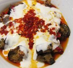 Manger Turc - La cuisine turque: AUBERGINES AU YAOURT - yogurtlu patliçan
