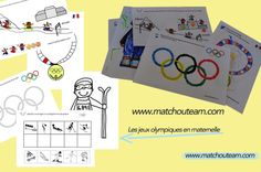fiches Jeux olympique ready to print !! | Les Jeux olympiques d'hiver� commence 7 f�vrier 2014. l'occasion parfaite pour d�cou... Kids Olympics, Winter Olympics, Winter Activities, Activities For Kids, Winter Sports Games, Core French, French Classroom, Teacher Organization, Teaching French