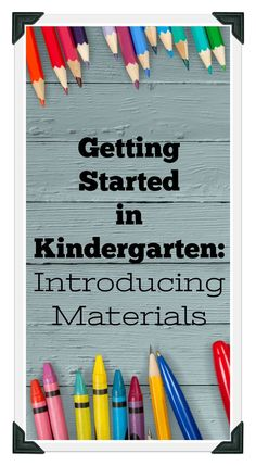 Find out how to get organized for those first days of kindergarten using a handy card deck to introduce back to school materials such as crayons, pencils, glue, and scissors using a guided discovery routine.