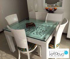Comedor retro Retro, Table, Furniture, Home Decor, Dining Room, Mesas, Homemade Home Decor, Rustic, Tables