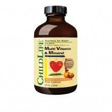 Multi Vitamin & Mineral, 237ml (gust de portocale/mango)