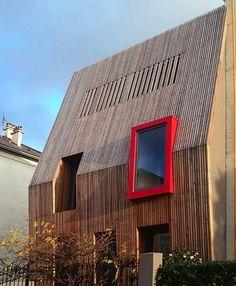 Catégorie rénovation/extension de logements - Réalisation : Maison M - Architectes : MM architectes, designers et planners